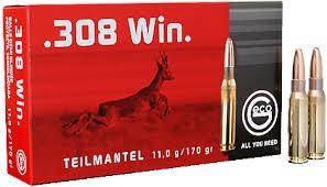 Geco deelmantel .308 Win 170grs