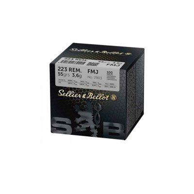Sellier & Bellot .223 FMJ 55grs (140st)