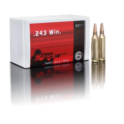 Geco Target volmantel .243 Win 105grs