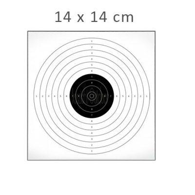 schietkaart 14x14