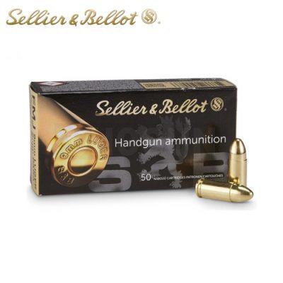 Sellier & Bellot 9mm Luger FMJ 124gr (50st)